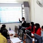 Lớp học kế toán thực hành tại Vĩnh Phúc