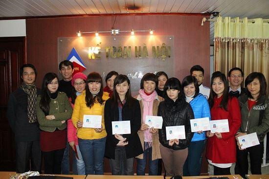tong ket Khóa học kế toán tổng hợp ngắn hạn tại Bắc Ninh